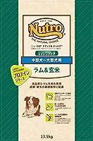 ニュートロジャパン ナチュラルチョイス [中型犬-大型犬用] 7歳以上エイジングケア ラム&玄米 13.5kg