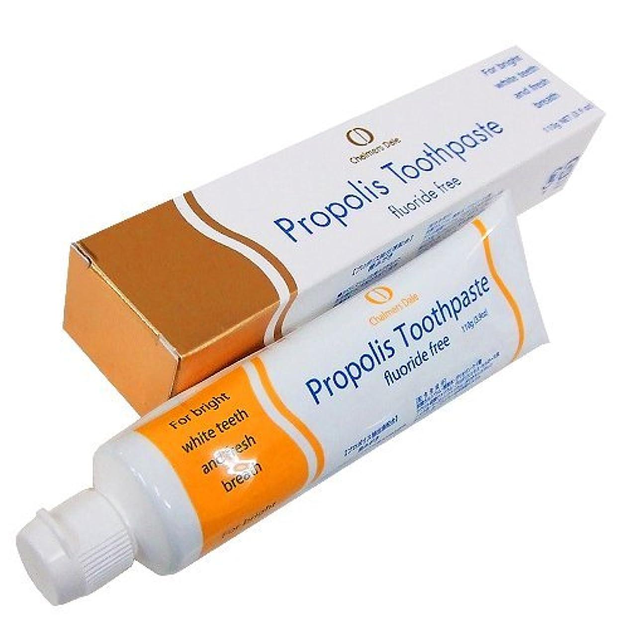 中性締め切り膨らみプロポリス歯磨き 110g フッ素は配合していません