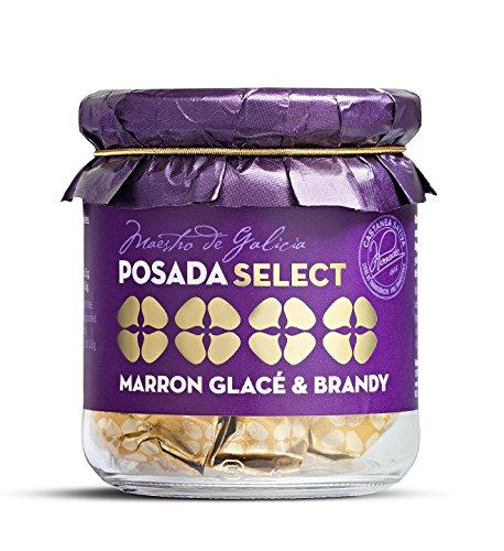 Marron glacé & brandy - Posada Marrón Glacé, tarro de vidrio 150 gr. Selección de la mejor castaña gallega, elaborada sin conservantes ni colorantes. Materia prima de primera calidad.
