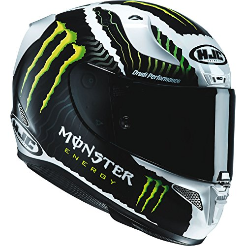 Casco Moto Hjc Monster Rpha 11 Military Bianco-Sand (M , Bianco)