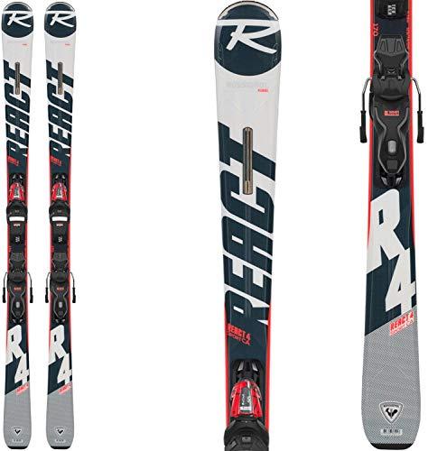 Rossignol React 4 Sport Ca Xpress 11 Gw Esquís con fijación, Adultos Unisex, Negro/Blanco, 170 cm
