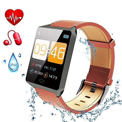 Gelrova IP68 Waterdichte Fitness Tracker 1.3