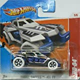 Hot Wheels Thrill Racers Ice '11 5/6 RD-04 on Short Card