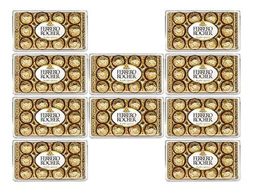 Kit C/120 Bombons Ferrero Rocher  10 Cx Ferrero T12