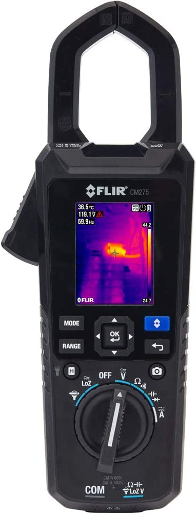 FLIR CM275-KIT Industrial Thermal Imaging Kit with D High material Meter sold out Clamp