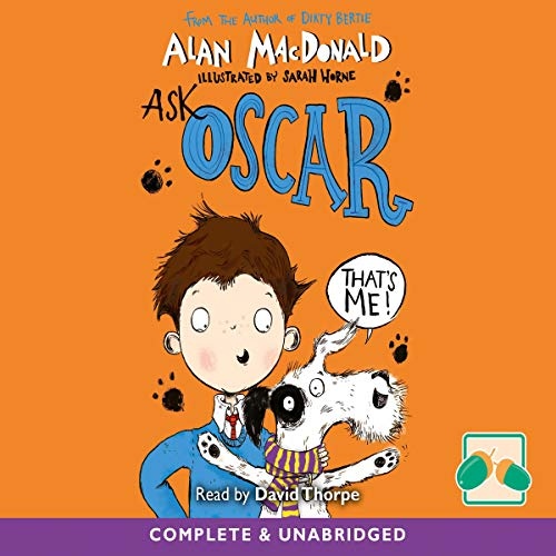 Ask Oscar audiobook cover art
