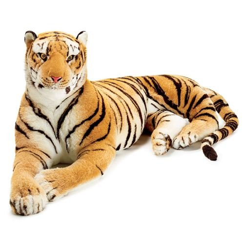 realistic large plush tiger for sale