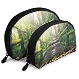 Teich-Enten-Baum-Landschaftstragbare Taschen-Make-upbeutel-Kulturtasche, tragbare...