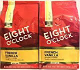 Eight O'Clock Coffee - French Vanilla ground - 11oz (Pack of 2)