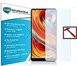 Slabo 3 x Premium Panzerglasfolie für Xiaomi Mi Mix 2S Panzerfolie Schutzfolie Echtglas Folie Tempered Glass KLAR 9H Hartglas