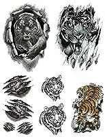 [THE FANTASY (ファンタジー)] タトゥーシール 虎 タイガー [5種5枚]set073