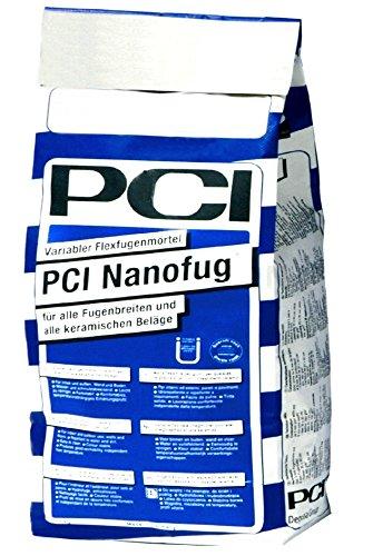 PCI NANOFUG Fugenmörtel 16 SILBERGRAU 4kg