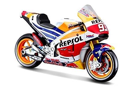 Maisto Marc Márquez Moto Honda repsol 1:18, Multicolor (34592)