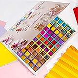 99 Colors Eyeshadow Palette, Rechoo Rainbow Colors Fusion Eyeshadow Palette, Professional Matte Glitter Makeup Pallet, Colorful Powder Long Lasting Eye Shadow