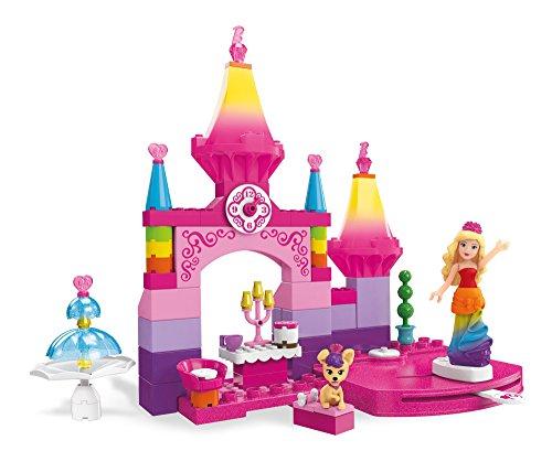 Mega Bloks Barbie Rainbow Princess Castle