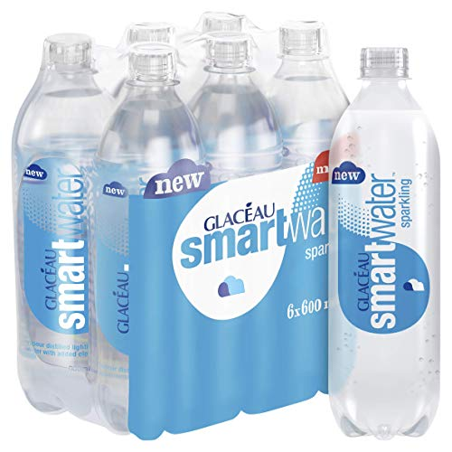 Glaceau Smart Water Sparkling 6 x 600 ml