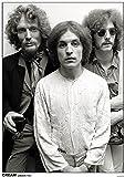THE CREAM Poster London 1967 ERIC Clapton Ginger Baker Jack