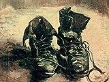 1art1 Vincent Van Gogh - Stilleben, EIN Paar Schuhe, 1886