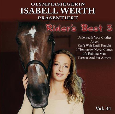 Rider's Best 3 - Musik zum Reiten Vol. 34 - Kürmusik instrumental CD