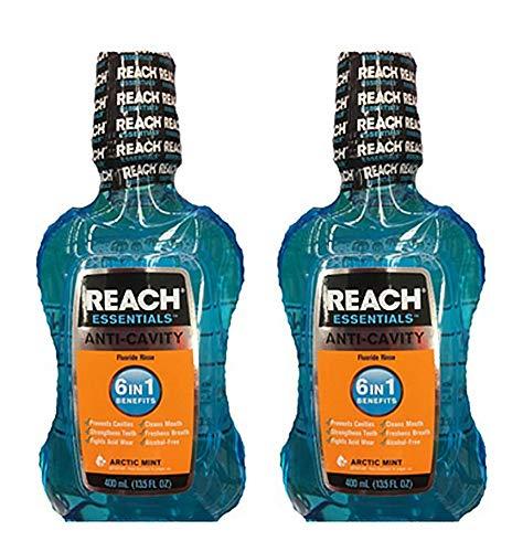 Reach Essentials Anti-Cavity Mouthwash Arctic Mint 13.5oz - Pack of 2