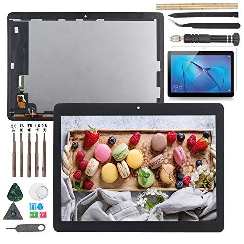 RongZy Bildschirm für Huawei MediaPad T3 10 AGS-L09 LCD Displayersatz Digitizer Touchscreen Montiert Ersatz mit Werkzeugen(USA Ausführung)