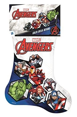 Hasbro Calza della Befana Marvel Avengers 2018,...