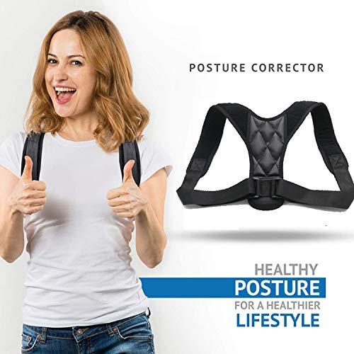 Haltungskorrektur, Geradehalter zur Haltungskorrektur | Körperhaltung-Korrektor | Rückenstütze Rückenbandage | Sports Haltungstrainer Rücken Schulter für Damen und Herren Größenverstellbar