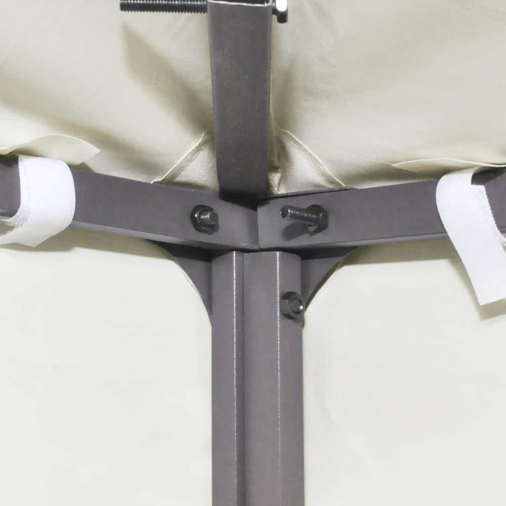 vidaXL Toldo de Cenador de Repuesto Tela Impermeable Blanca 3x3m Techo Pérgola: Amazon.es: Hogar