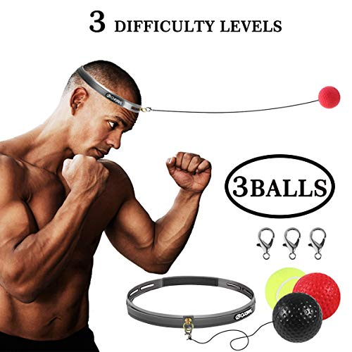 Speed Boxing Ball Hand Eye Training Reaction Boxing Exercise Punching