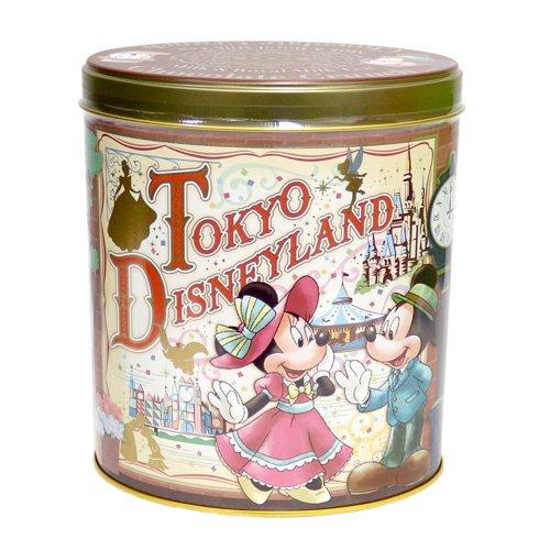 ミッキー&フレンズ 缶入りチョコレートクランチ ミルク&ロイヤルミルクティー味 お菓子 【東京ディズニーリゾート限定】