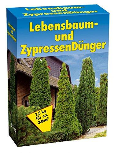 GP Lebensbaum und Zypressendünger 2,5kg Lebensbaumdünger Dünger Langzeitdünger