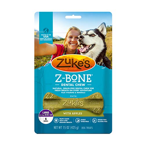Zuke's Large Z-Bone Grain Free Dental Chew Dog...