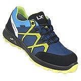 Lupriflex 4-430 Rapid Low S3 ESD Zapatos de Trabajo Planos Azules Zapatos de Seguridad sin Metal, Tamaño:42 EU