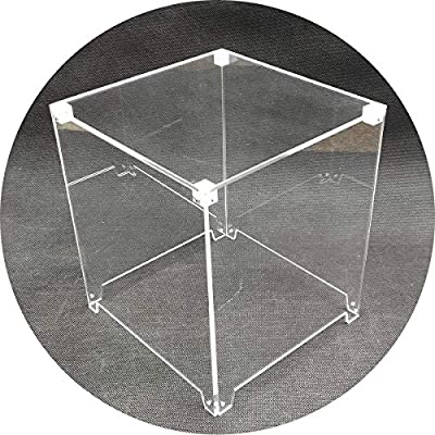 iCubeSmart 3D LED Cube Transparent Acrylic Case It is Only Applicable to 3D8S-BLUE and 3D8S-MUTIL