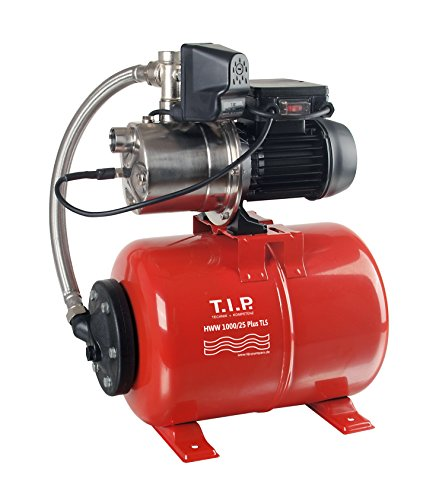 T.I.P. 31145 Hauswasserwerk HWW 1000/25 Plus TLS mit Trockenlaufschutz
