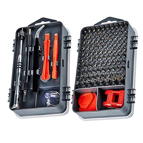 112 in 1 Schroevendraaier Set Magnetische Schroevendraaier Bit Torx Multi Mobiele Telefoon Reparatie Gereedschap Kit Elektronische Apparaat Hand Tool