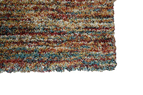 Teppich Läufer Ragolle Mehari 23067 2959 merhfarbig bunt rost Meterware 80 cm Breite (120)
