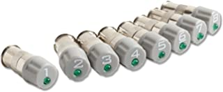 Fluke Networks PTNX8-ID-1-8 ID Caps (Set of 8) for Pocket Toner NX8 Coax Cable Tester