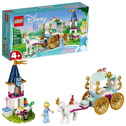 LEGO Disney Cinderella's Carriage Ride 41159 4+ Building Kit, 2019 (91 Pieces)