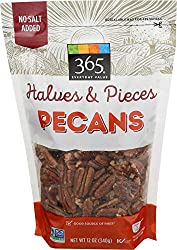 365 Everyday Value, Pecans, Halves & Pieces, 12 oz