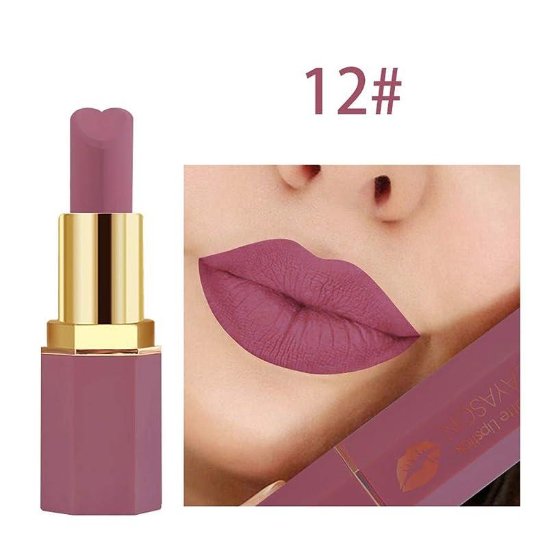 FINME Cosmetics Matte and Pumpkin Color Bean Paste Lip Solid Gloss Lipstick Long Last