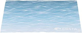 Costa Del Mar Costa 5x7 Recycled Microfiber Cleaning Cloth, New Wave Blue, 5 x 7