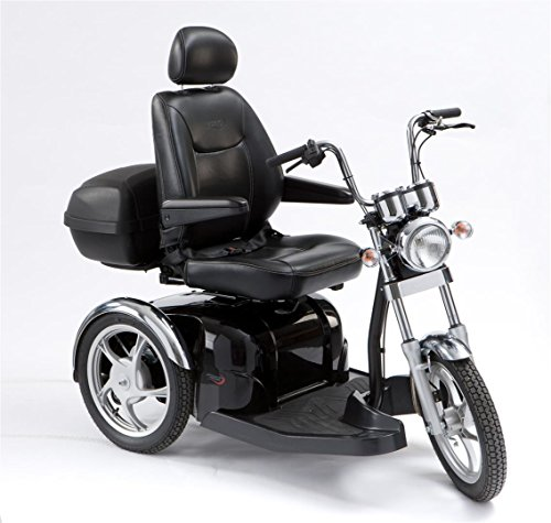 Drive Medical Sport Rider Stylish 3 Wheel Class 3 Mobility Scooter