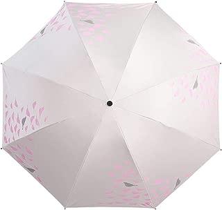 YQRYP Mini Manual Folding Umbrella ,CompactSun Umbrella&RainUmbrella - Lightweight Portable Outdoor Parasol for Everyone Windproof Umbrella, Golf Umbrella (Color : Pink)