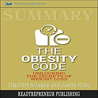 Summary: The Obesity Code audiobook cover art