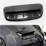 EPR for Mini Cooper S R56 07-14 VTX Style Carbon Fiber Hood Scoop Vents (Larger) Kit
