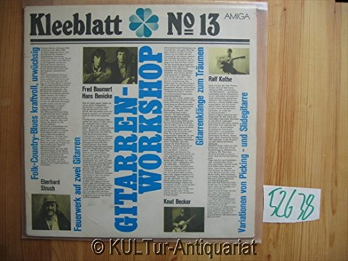 Kleeblatt no.13 - Gitarren-Workshop Vinyl-LP