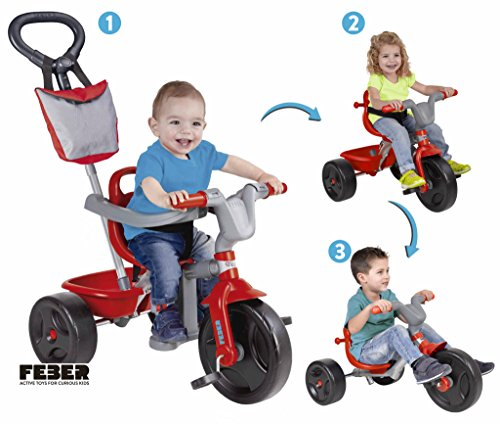 Feber evolutionären Dreirad Evo Trike Plus 3 in 1 (Berühmte 800010946)