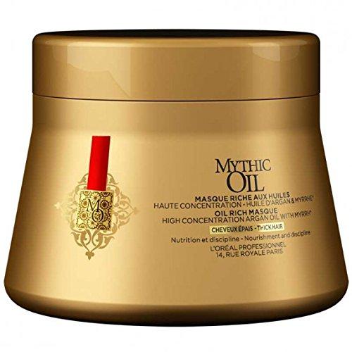Salon de l'oréal professionnel Mythic Oil Hair Masque Cheveux épais – 200 ml