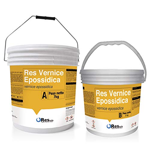 res Pintura epoxi para suelos RES pintura epoxi para suelos industriales garajes, para aplicar en rodillo, en todos los colores RAL y NCS > ver > RES Pastacolor
